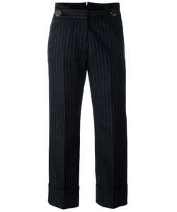 Petar Petrov | Pinstriped Cropped Trousers
