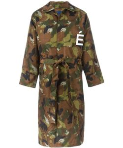 Études Studio   Camouflage Trenchcoat