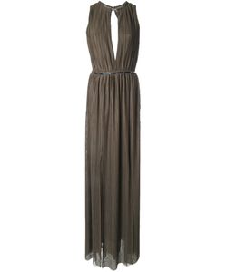 Jay Ahr | Plissé Evening Gown
