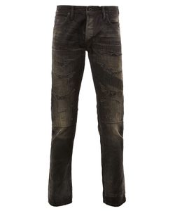 Mastercraft Union   Ripped Tapered Jeans