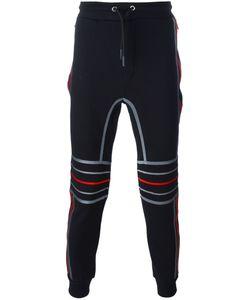 Les Hommes Urban   Embossed Knee Track Pants