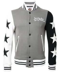 Education From Youngmachines | Star Print Bomber Jacket