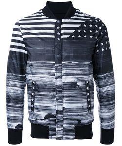 Yoshio Kubo | Flag Print Bomber Jacket