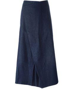 Charlie May | Asymmetric Denim Skirt