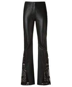 Martha Medeiros | Leather Flared Trousers