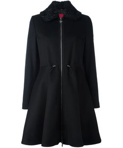 Moncler Gamme Rouge   Flared Hooded Coat