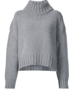 Sally Lapointe | Thick Ribbed Collar Pullover