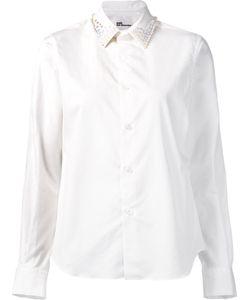 Comme Des Garçons Noir Kei Ninomiya | Pyramid Studded Collar Shirt