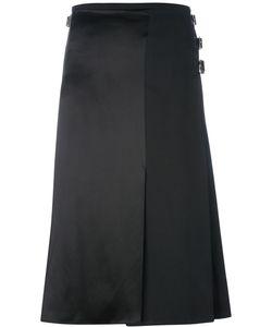 Le Kilt   Silk Panel Pleated Skirt