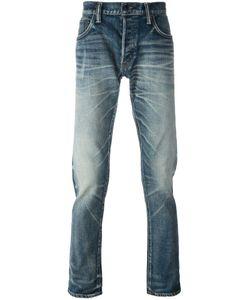 Mastercraft Union   Hard Stonewash Effect Tapered Jeans