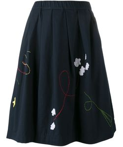 Mira Mikati | Fly Embroidered Skirt