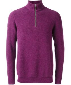 N.Peal | Ribbed Zipped Pullover