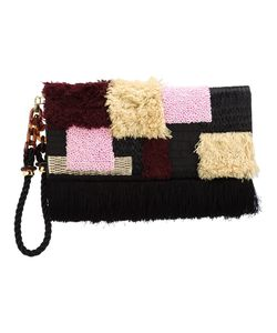 Lizzie Fortunato Jewels   Tapestry Clutch Bag