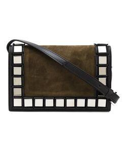 Tomasini | Mirrored Square Trim Shoulder Bag