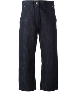 Studio Nicholson | Wide Leg Cropped Jeans