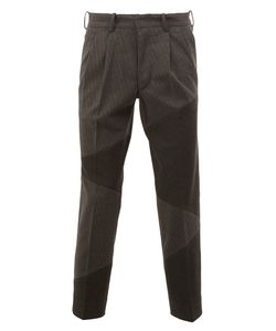 Anrealage | Noise Panel Cropped Trousers