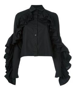 Victoria/Tomas | Ruffle Sleeve Shirt