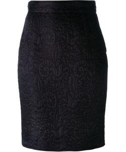 Moschino Vintage | Jacquard Pencil Skirt