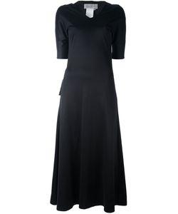 Yohji Yamamoto Vintage | Long V-Neck Dress