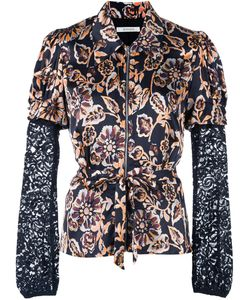 Rodarte | Floral Print Fitted Shirt