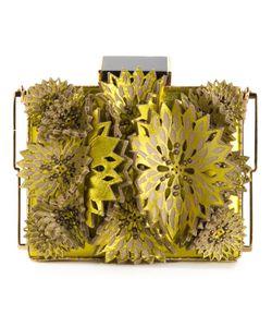 Tonya Hawkes | Appliqué Flower Clutch