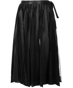 Jonathan Cohen | Ruched Lace Detail Skirt