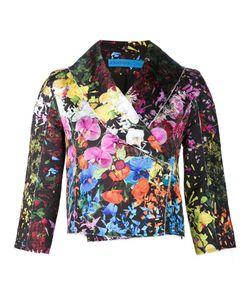 Jonathan Cohen | Floral Brocade Crop Jacket