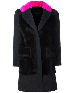 Blancha | Contrast Collar Coat
