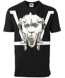 Les Hommes Urban   Printed T-Shirt