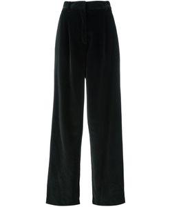 Dusan   Wide-Legged Velvet Trousers