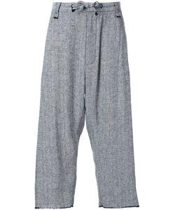 Assin | Herringbone Baggy Pleat Trousers