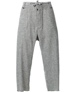 Assin | Herringbone Pleat Trousers