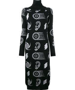 Ashley Williams   Intarsia Roll Neck Dress
