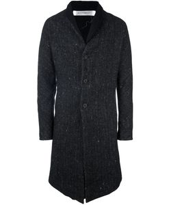 Individual Sentiments   Woven Stand Collar Coat