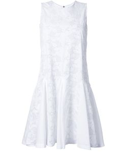 Mikio Sakabe | Floral Embroidered Flared Shift Dress