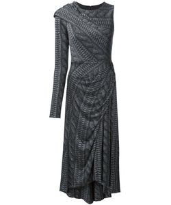 Christian Siriano | Printed Single Sleeve Dress