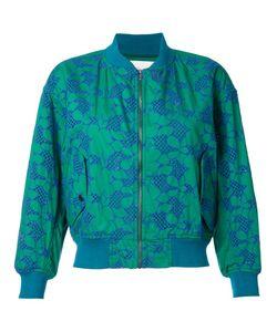 Mikio Sakabe | Floral Embroidered Bomber Jacket