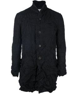 Individual Sentiments   Woven Shawl Collar Jacket