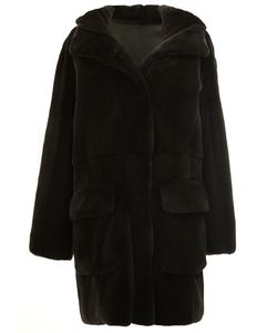32 Paradis Sprung Frères | Reversible Hooded Coat