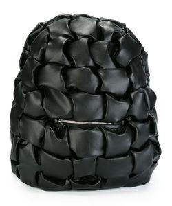 Comme Des Garçons Noir Kei Ninomiya | Geometric Embossed Backpack