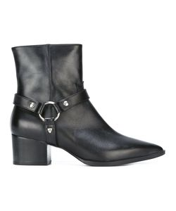 Htc Hollywood Trading Company | Buckle-Strap Ankle Boots Womens Size 39