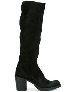 Fiorentini & Baker | Fiorentini Baker Knee High Boots Womens Size 39 Suede/Leather/Rubber
