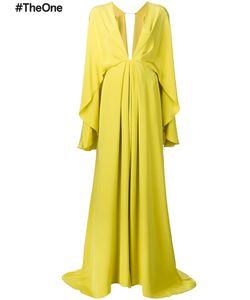 Christian Siriano | Draped Gown Womens Size 6 Silk