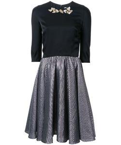 Ingie Paris   Waffle Texture Dress Womens Size 36 Acrylic/Polyamide/Polyester/Wool