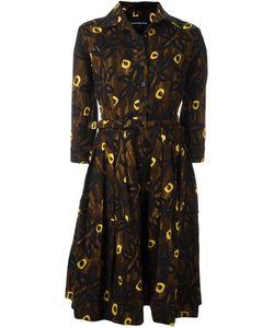Samantha Sung | Claire Seye Dress Womens Size 8 Wool/Silk