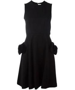 Comme Des Garçons Noir Kei Ninomiya | Fur Pocket Sleeveless Dress Womens