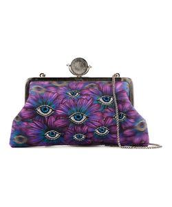Sarah's Bag   Floral Eye Embroidery Clutch Bag Womens