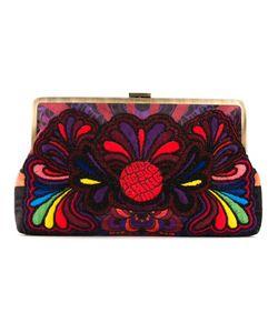 Sarah's Bag   Paisley Embroidery Clutch Bag Womens