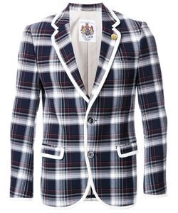 Education From Youngmachines | Plaid Single Breasted Coat Mens Size 3