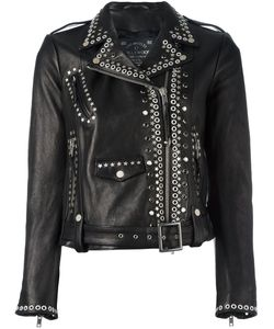 Htc Hollywood Trading Company | Studded Biker Jacket Womens Size Large